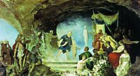 Orpheus in the Underworld, 1880, siemiradzki
