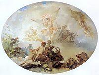 Plafon Jutrzenka, 1886, siemiradzki