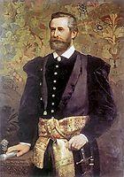 Portrait of Ludwik Wodzicki, 1880, siemiradzki