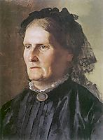 Portrait of a mother of Henry Siemiradzki, siemiradzki