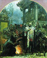 Prince Alexander Nevsky in Gold Horde, 1876, siemiradzki