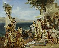 Roma, 1882, siemiradzki