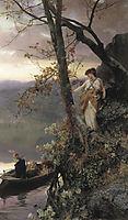 Scene from Roman Life, 1883, siemiradzki