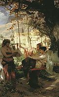 Slave-s Song, 1884, siemiradzki