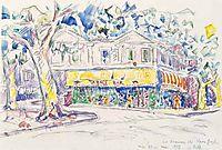 Arles,Yellow House of Van Gogh during 1888-1889, 1933, signac