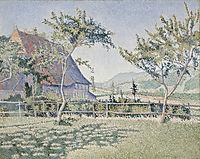 Comblat-le-Château. Le Pré, 1886, signac