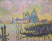 Grand Canal, Venice, 1905, signac