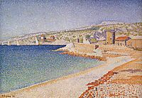 The Jetty at Cassis, 1889, signac