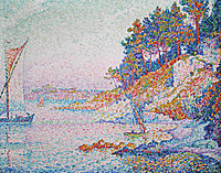 La Calanque, the Bay, 1906, signac