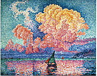 The Pink Cloud, Antibes, 1916, signac
