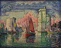 Port of La Rochelle, 1921, signac