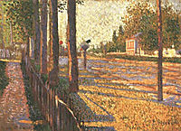The Railway at Bois-Colombes, 1886, signac