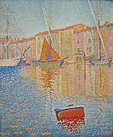 The Red Buoy, 1895, signac