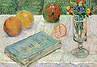 Still Life with a Book, 1883, signac