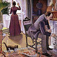 Sunday, 1888-1890, signac