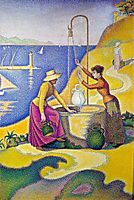 Women at the Well, 1892, signac