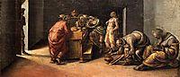 The Birth of St. John the Baptist, c.1490, signorelli