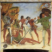 The Conversion of Paul, 1482, signorelli