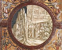 Dante and Virgil Entering Purgatory, 1502, signorelli
