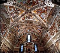 Frescoes in the Chapel of San Brizio, 1502, signorelli
