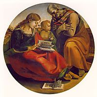 The Holy Family, c.1490, signorelli
