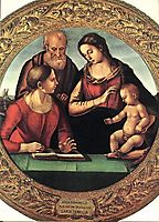 Holy Family with St. Catherine, 1492, signorelli