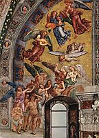 The Last Judgment (The left part of the composition - The Blessed Consigned to Paradise), 1502, signorelli