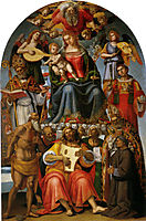 Madonna and Child with Saints, signorelli