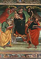 Madonna and Child with Saints, c.1500, signorelli
