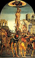 The Martyrdom of St. Sebastian, c.1498, signorelli