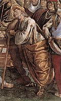 Moses-s Testament and Death (detail), 1482, signorelli