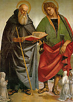 Saints Eligius and Antonio, signorelli