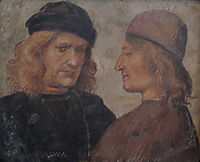 Self-portrait of Luca Signorelli (left), c.1503, signorelli