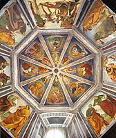 View of the Vaulting of the Sacristy of St. John, 1482, signorelli