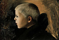 Boy from Sakkijarvi, 1897, simberg