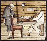 Death Listens, 1897, simberg