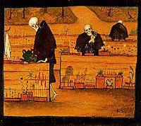 The Garden of the Dead, 1896, simberg