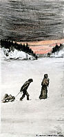 Homeward Bound, 1901, simberg