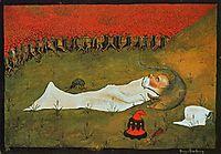 King Hobgoblin Sleeping, 1896, simberg