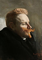 Man with Red Moustache, 1903, simberg