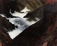 Mountain Stream in Caucasia, 1899, simberg