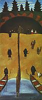 Tuonelan Portilla, 1898, simberg