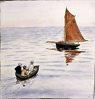 Two passengers, 1901, simberg