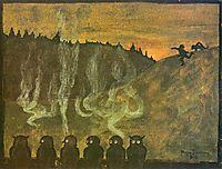 Waiting for Dawn, 1895, simberg