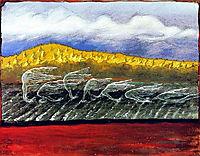 The Wind Blows, 1897, simberg