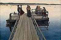 Winger Dance, 1903, simberg