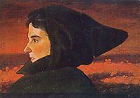 Woman, 1890, simberg