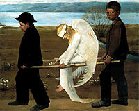 The Wounded Angel, 1903, simberg