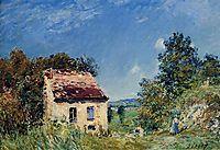 Abandoned House, 1887, sisley
