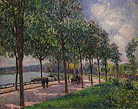 Alley of Chestnut Trees, sisley